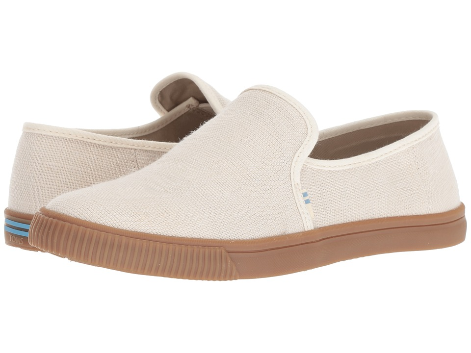 TOMS Clemente (Birch Heritage Canvas) Slip-On Shoes