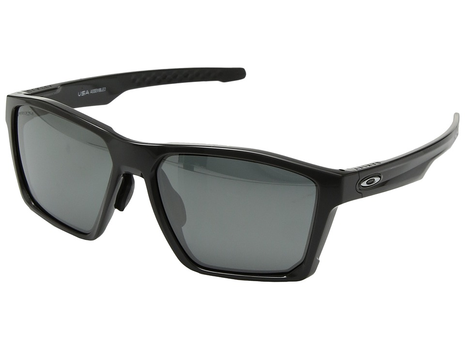 Oakley - Targetline (A) (Carbon w/ Prizm Black) Athletic Performance Sport Sunglasses