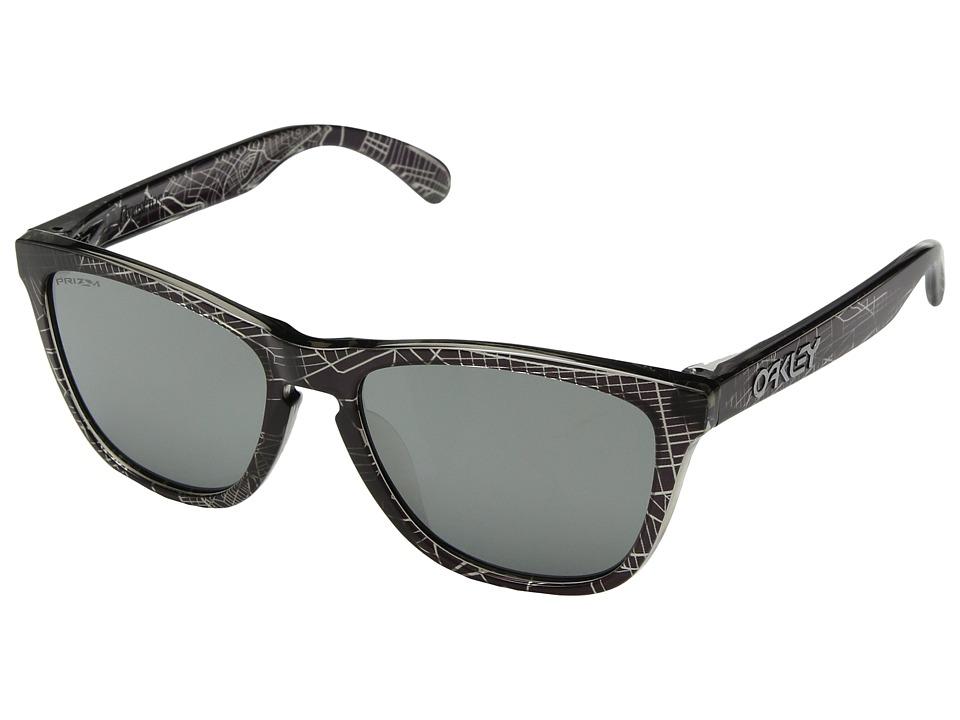 Oakley - Frogskins Urban Commuter IML (A) (NYC Black w/ Prizm Black) Athletic Performance Sport Sunglasses