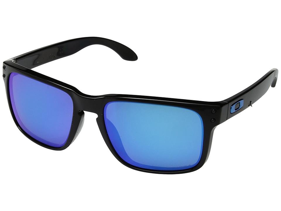 Oakley Holbrook (Polished Black w/ Prizm Sapphire) Sport ...
