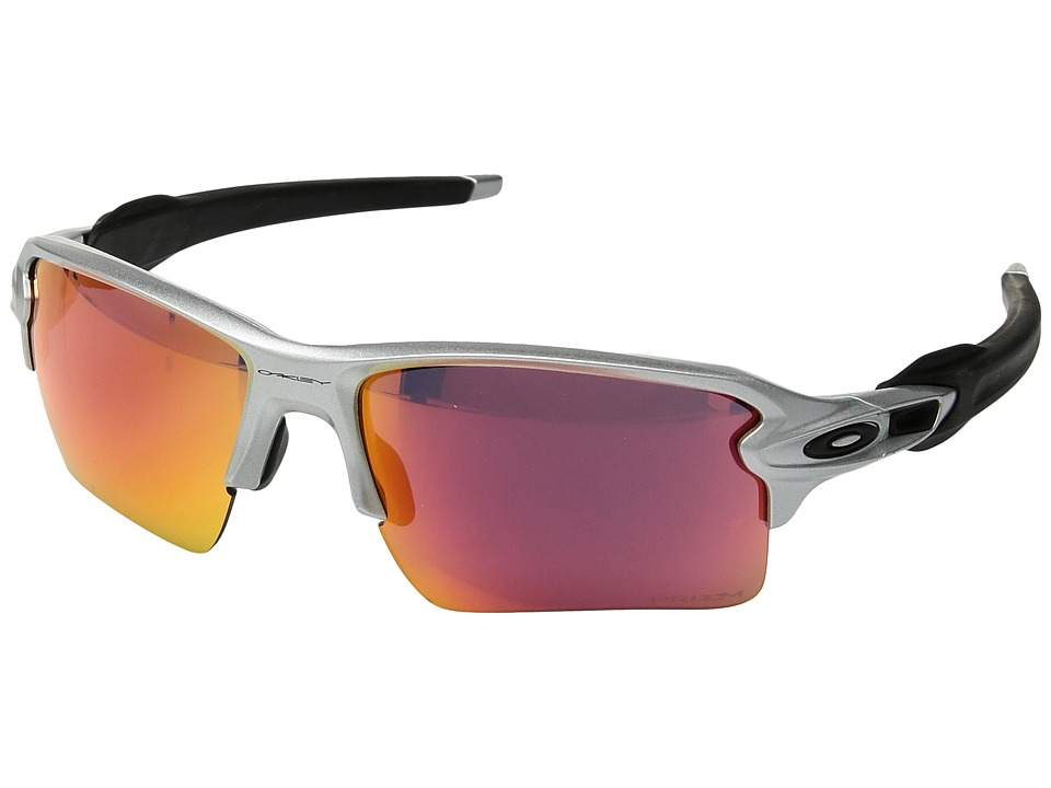 Oakley - Flak 2.0 XL (Silver w/ Prizm Field) Fashion Sunglasses