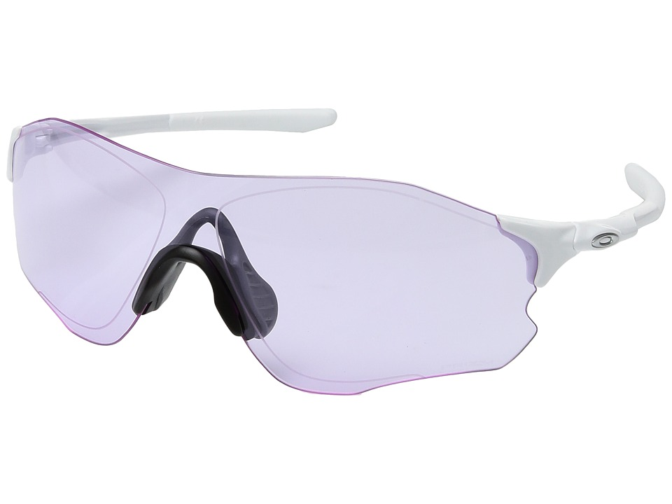 Oakley - Evzero Path (Polished White w/ Prizm Low Light) Fashion Sunglasses