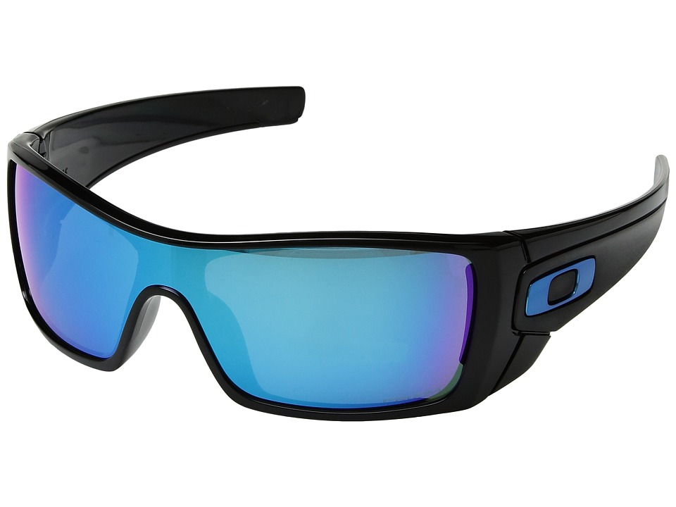 Oakley - Batwolf (Polished Black w/ Prizm Sapphire) Sport Sunglasses