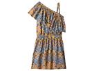Ella Moss Girl All Over Print One Shoulder Dress
