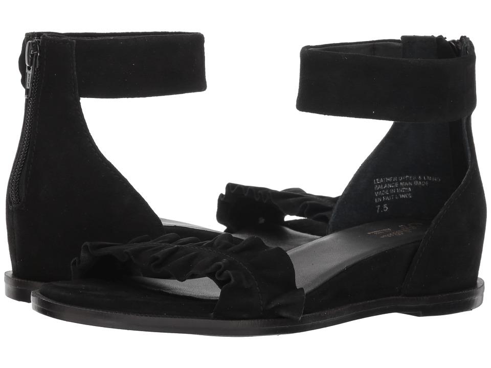 Seychelles Noble (Black Suede) Sandals