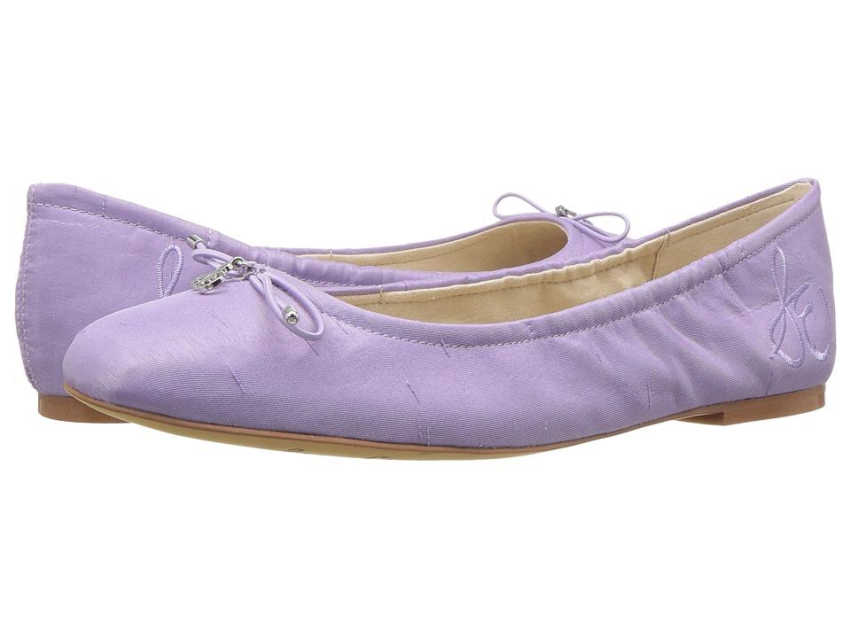 Sam Edelman Felicia (Lavender Silk Dupioni) Flats
