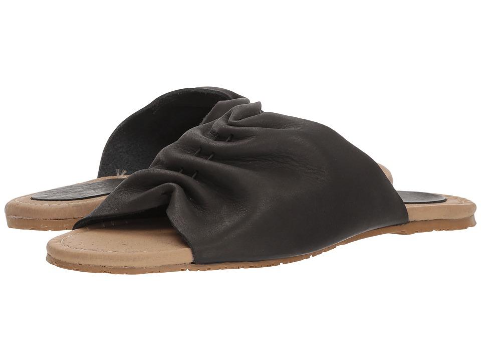 Musse&Cloud - Camelia (Black) Womens Slide Shoes