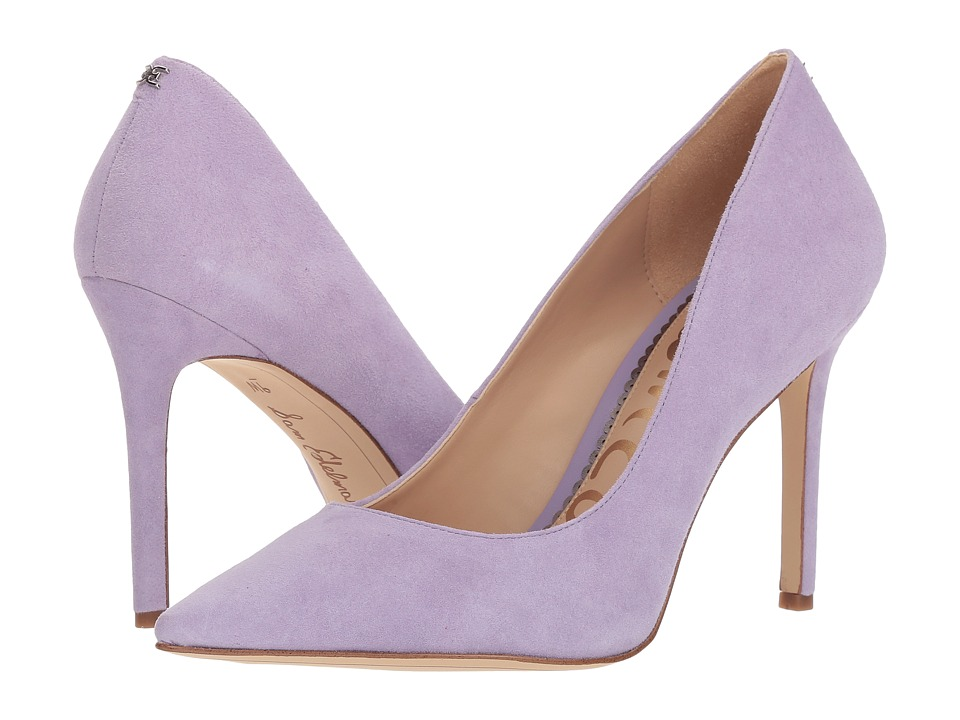 Sam Edelman Hazel (Lavender Kid Suede Leather) Women's Shoes
