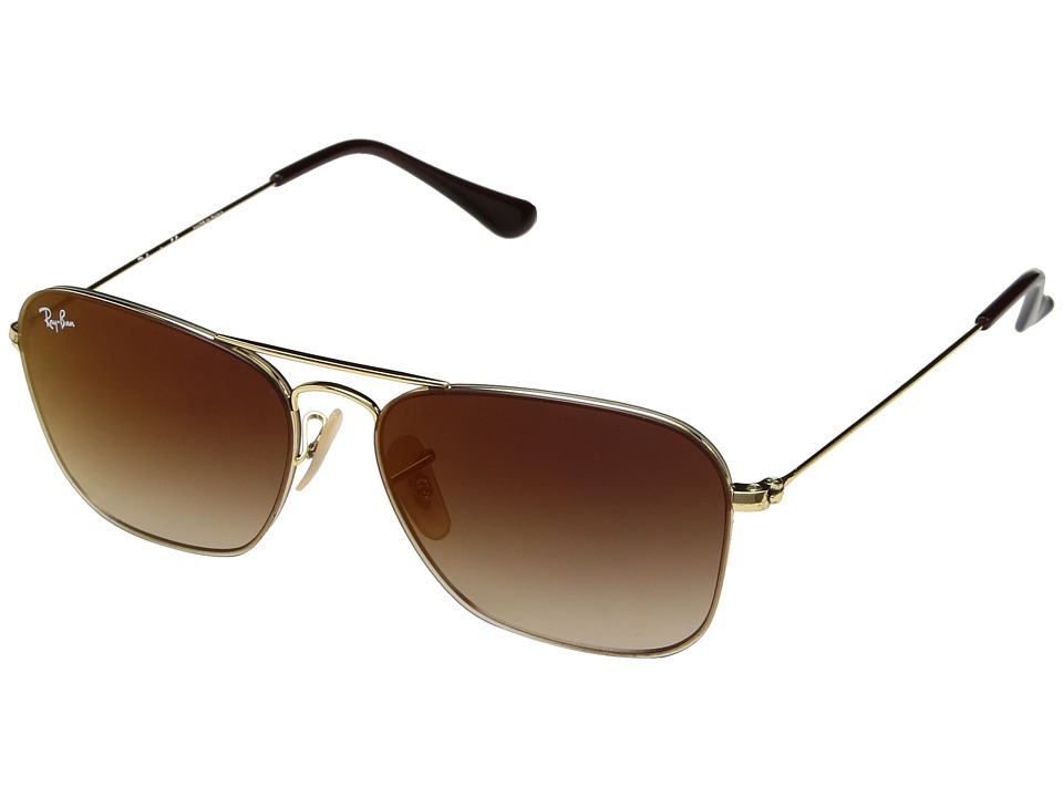 Ray-Ban RB3603 56mm (Gold/Brown Gradient) Fashion Sunglasses