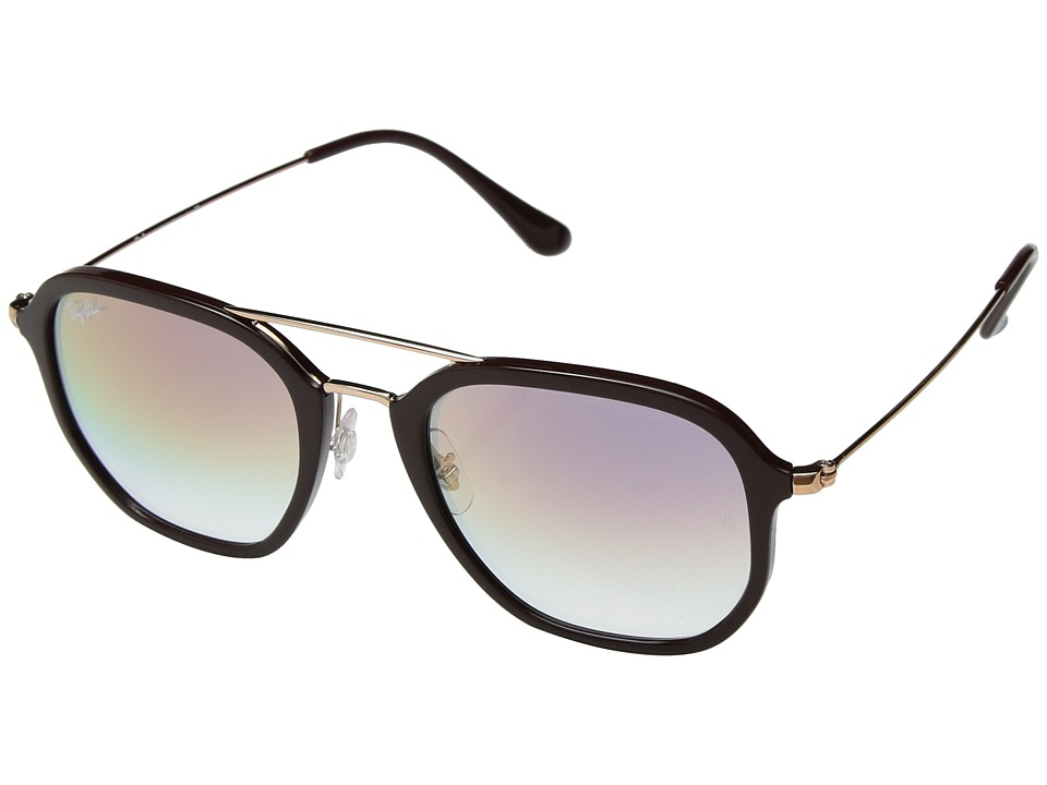 Ray-Ban 0RB4273 52mm (Chocolate/Clear Violet Gradient) Fashion Sunglasses