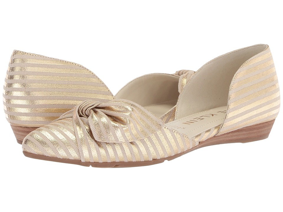 Anne Klein Bette (Gold/Natural) Flats