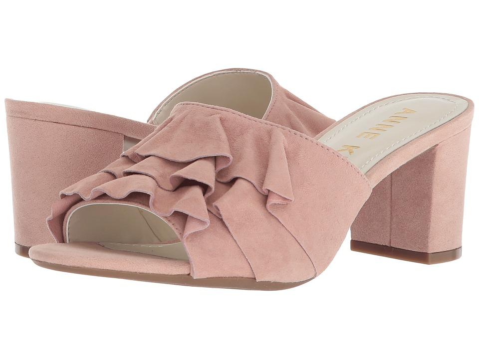 Anne Klein Cerise (Light Pink/Light Pink Suede) Slides