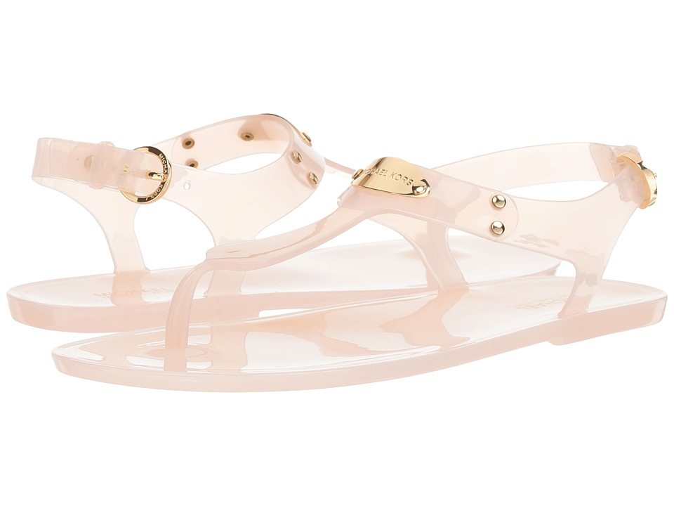MICHAEL Michael Kors - MK Plate Jelly (Soft Pink Clear PVC) Womens Sandals