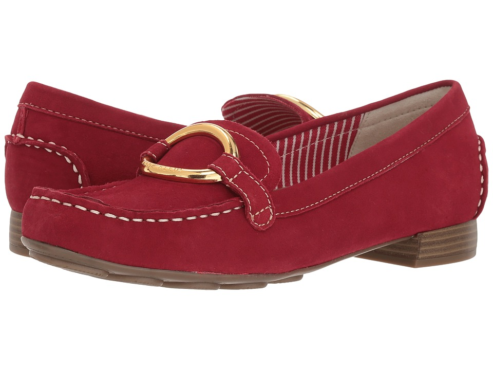 Anne Klein Harmonie (Red Suede) Women's Shoes