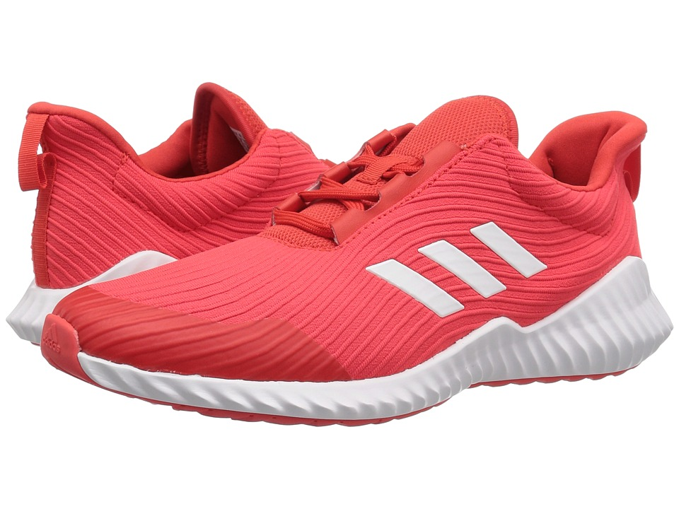 adidas Kids FortaRun (Little Kid/Big Kid) (Hi-Res Red/White/Black) Kid