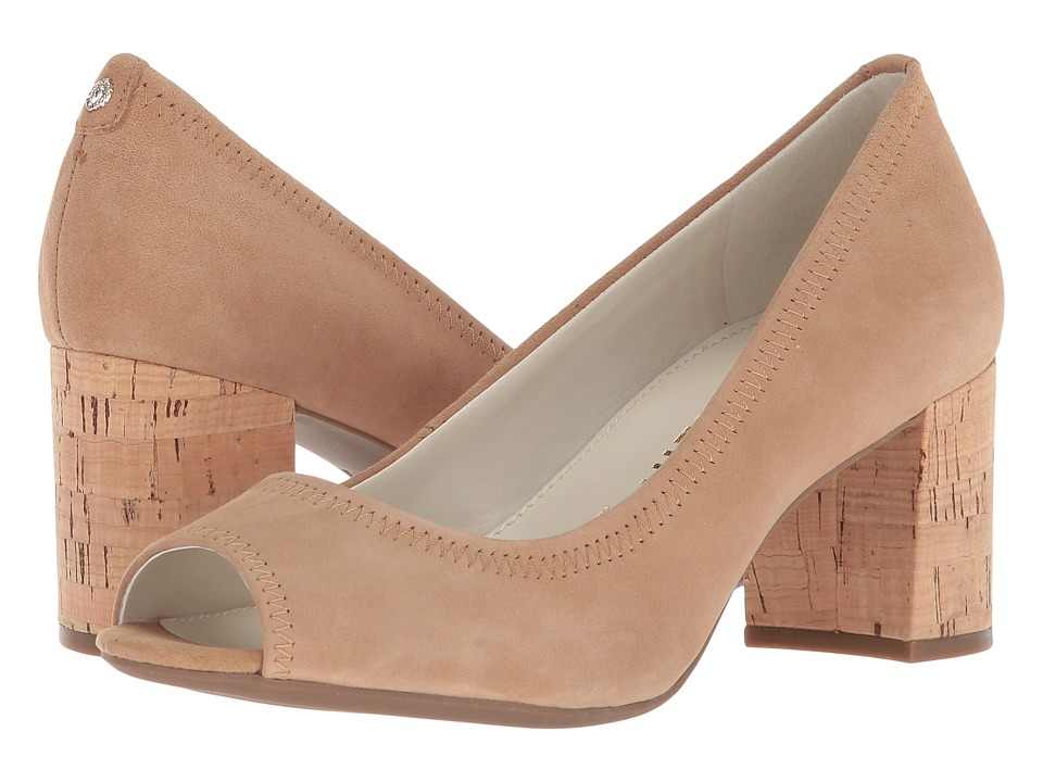 Anne Klein Meredith (Natural Suede) Women's Shoes