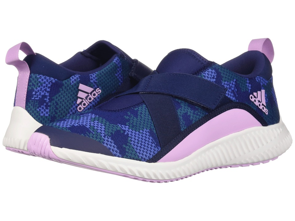 adidas Kids FortaRun X CF (Little Kid/Big Kid) (Dark Blue/Clear Lilac/White) Girls Shoes