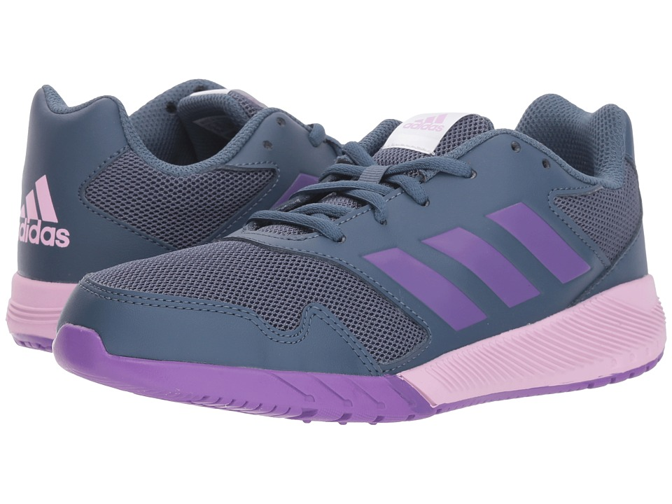 adidas Kids AltaRun (Little Kid/Big Kid) (Tech Ink/Ray Purple/Clear Lilac) Girls Shoes