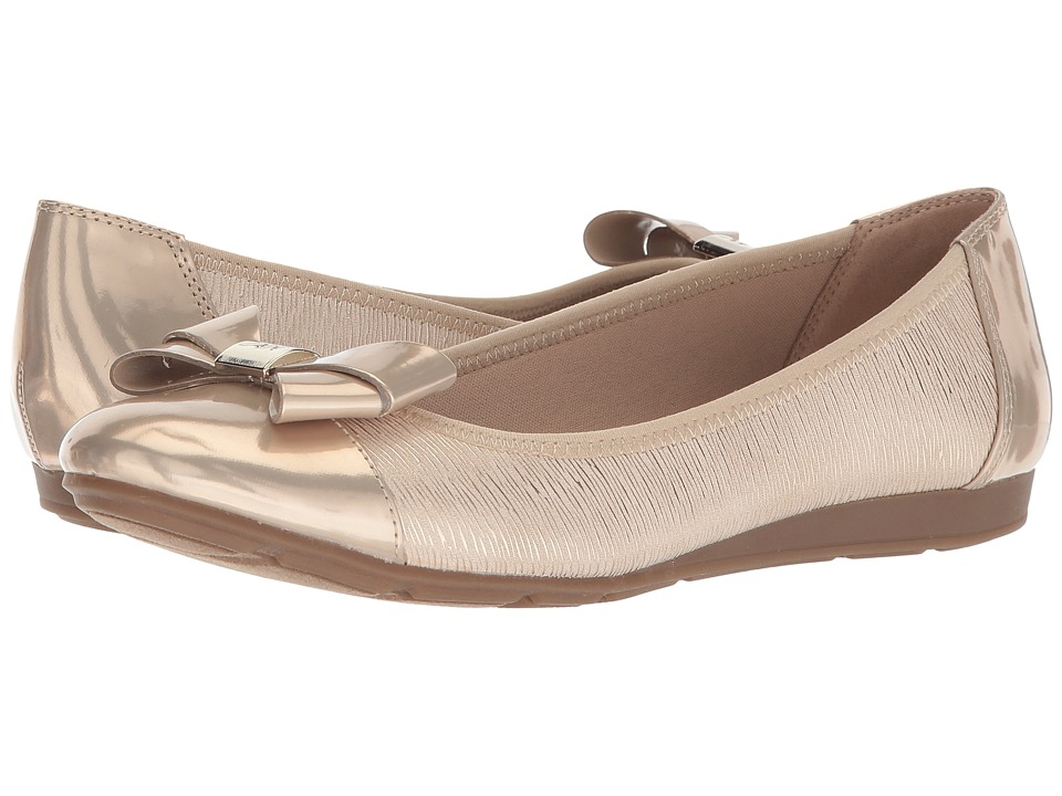 Anne Klein Alphia (Light Natural/Light Gold Multi Synthetic) Flats