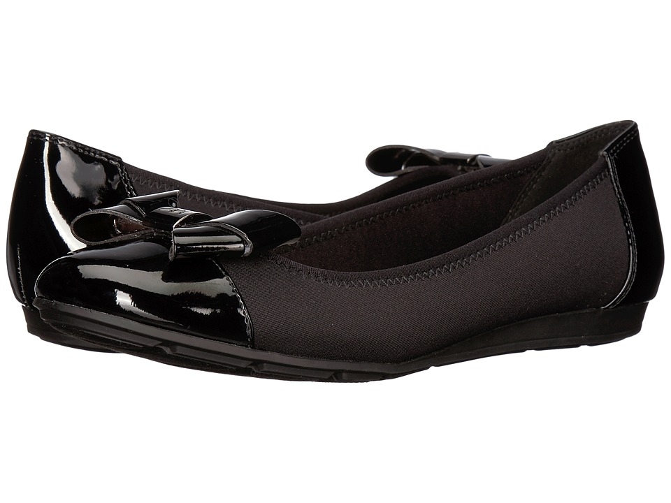 Anne Klein Alphia (Black Multi Fabric) Flats