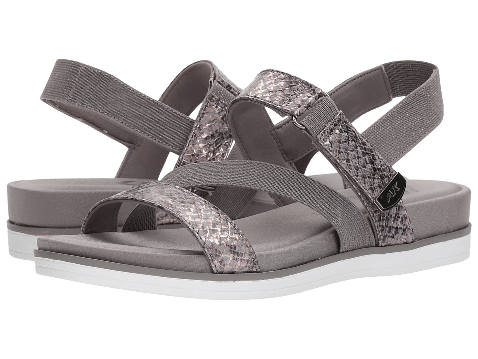 Anne Klein Nolita (Pewter/Pewter Fabric) Sandals