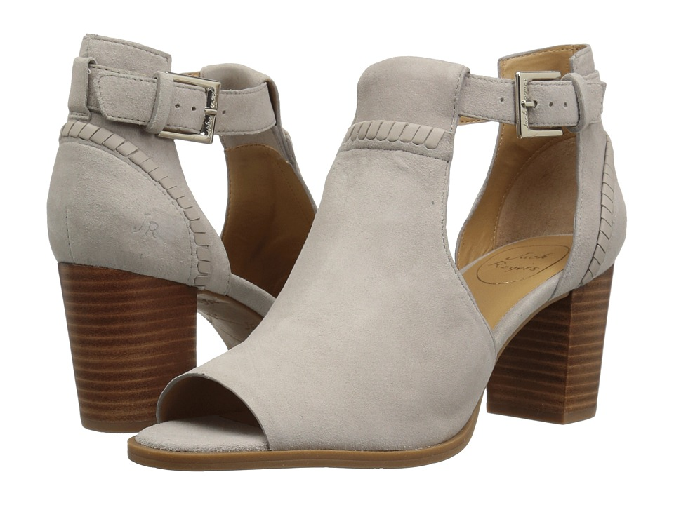 Jack Rogers Cameron (Dove Grey Suede) Women's Shoes