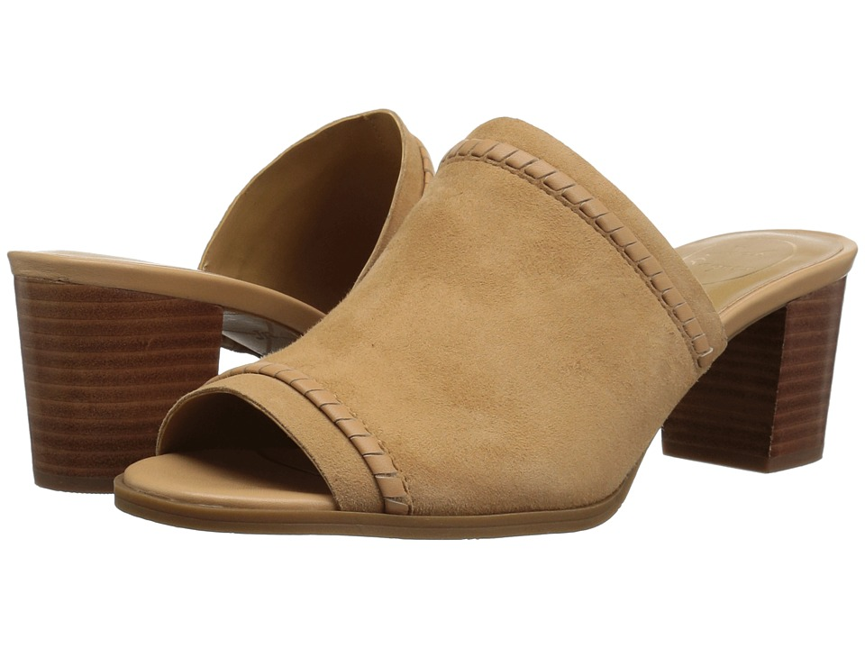 Jack Rogers Campbell (Butterum Suede) Women's Shoes