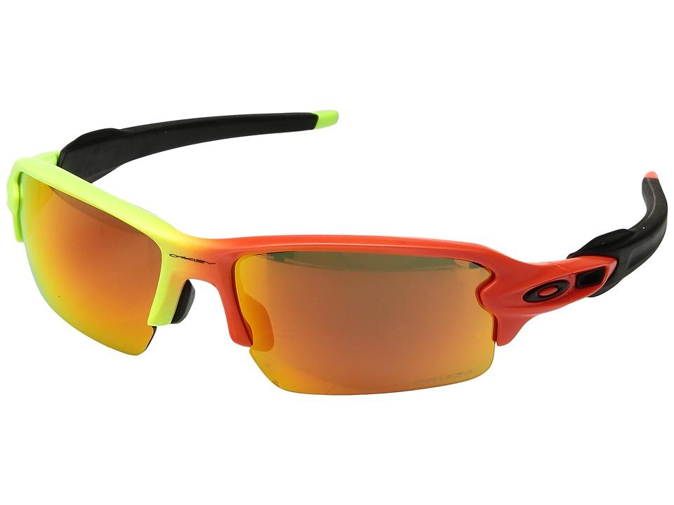 Oakley - (A) Flak 2.0 (Harmony Fade w/ Prizm Ruby) Sport Sunglasses