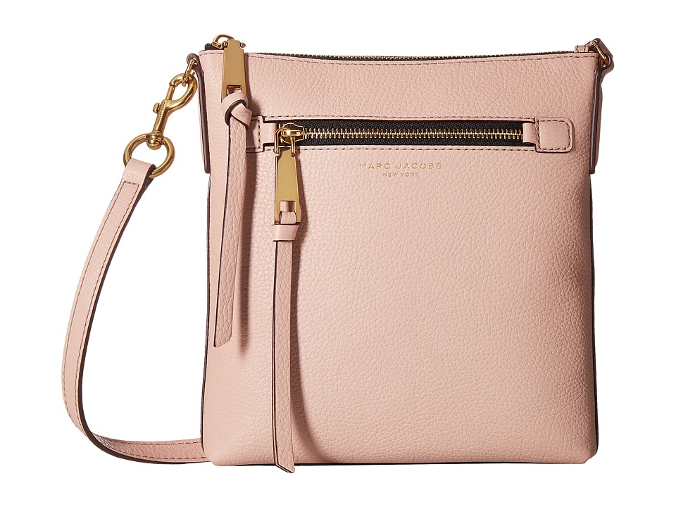 Marc Jacobs - Recruit North/South Crossbody (Rose) Cross Body Handbags