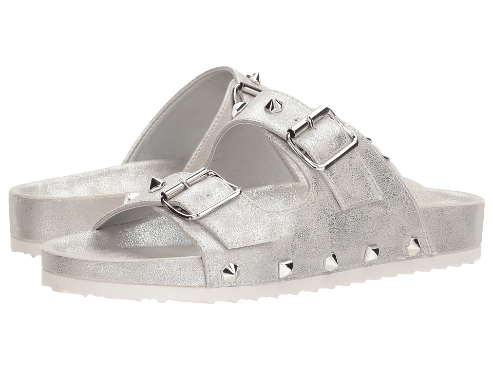 Dirty Laundry - Quinn (Silver Shimmer) Women's Sandals