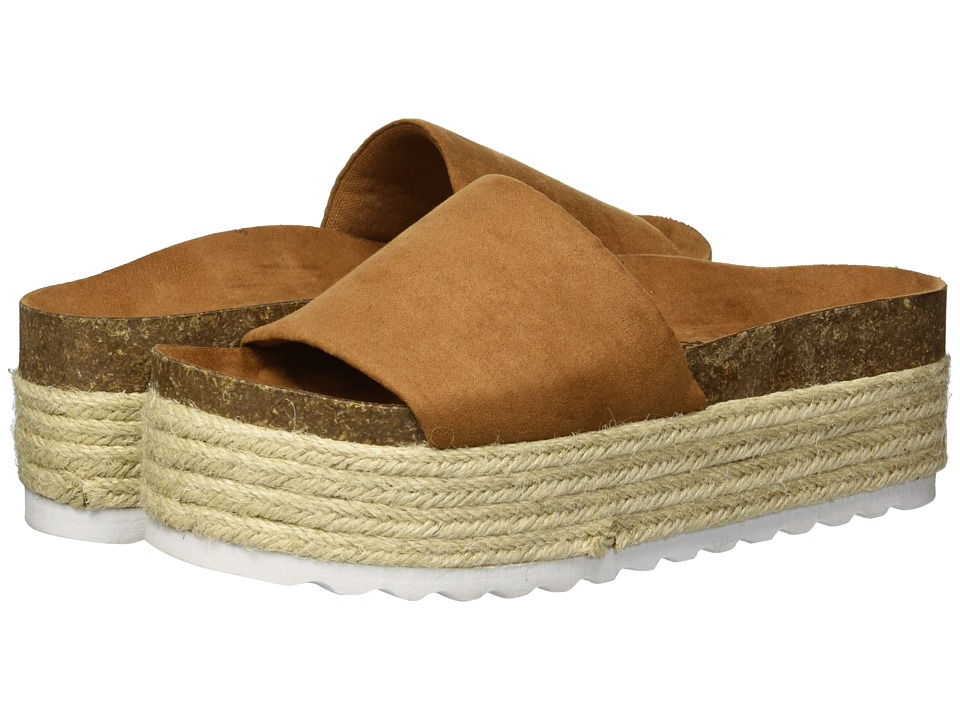 Dirty Laundry Pippa Platform Sandal (Whiskey Microsuede) Sandals
