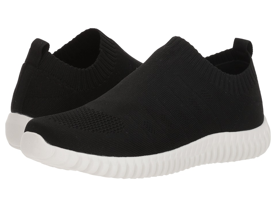 Dirty Laundry Haywood Knit Sneaker (Black Knit) Slip-On Shoes