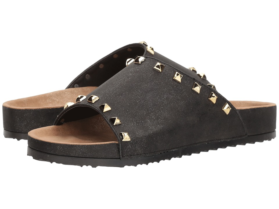 Dirty Laundry Qiana Slide Sandal (Charcoal Shimmer) Sandals
