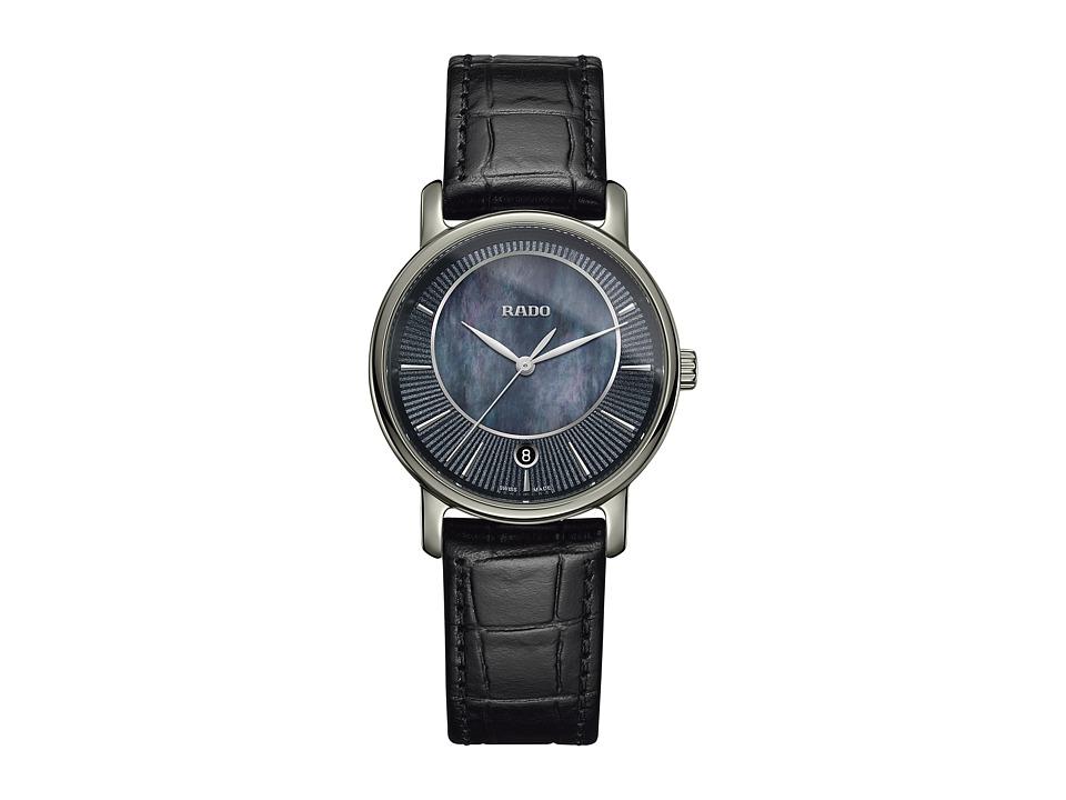 Rado DiaMaster - R14064915 (Black) Watches