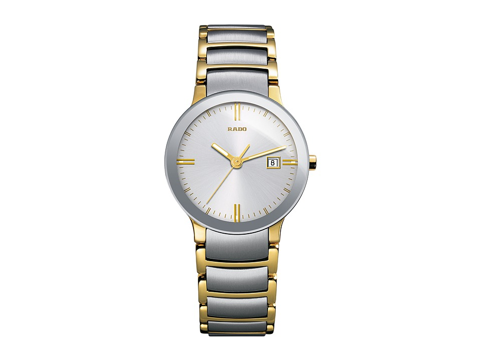 Rado Centrix - R30932103 (Two-Tone Silver/Yellow Gold) Wa...