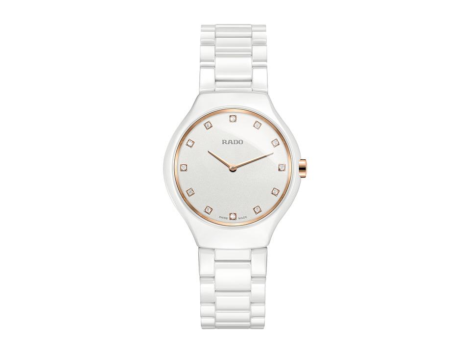Rado True Thinline - R27958722 (White Ceramic) Watches