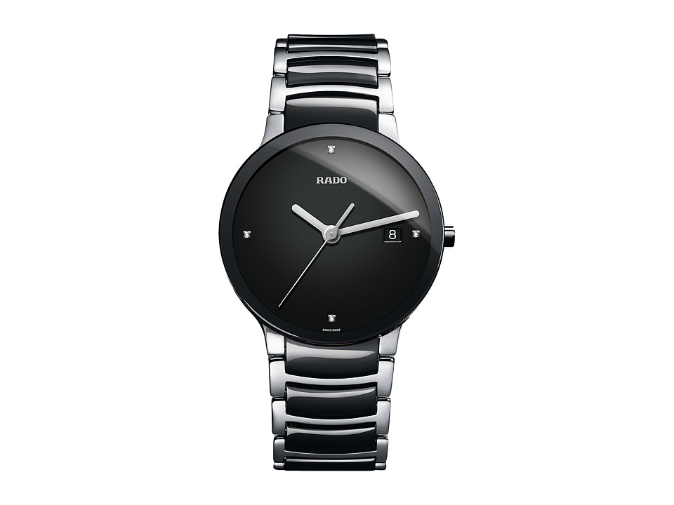Rado Centrix - R30934712 (Two-Tone Black/Silver) Watches