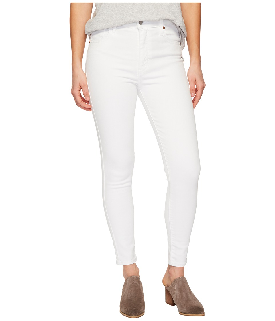 Levis(r) Premium - Mile High Ankle Skinny (Western White) Womens Jeans