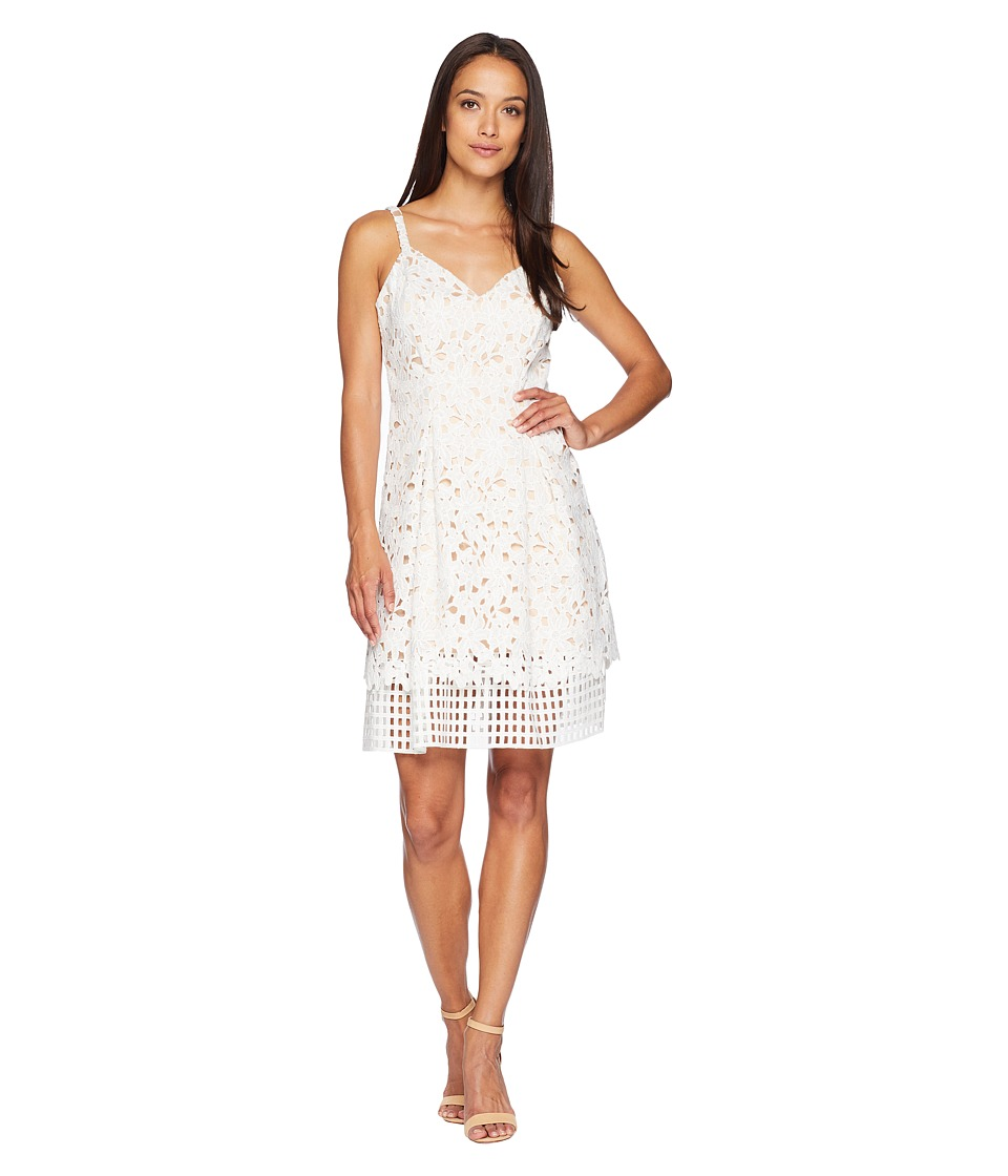 Vince Camuto Laser-Cut Fit & Flare Dress - Black 4 from $118.00 - Nextag