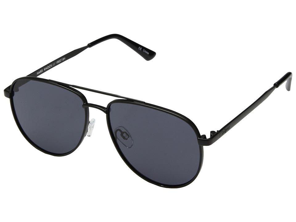 Le Specs - Hard Knock (Matte Black/Smoke Mono) Fashion Sunglasses