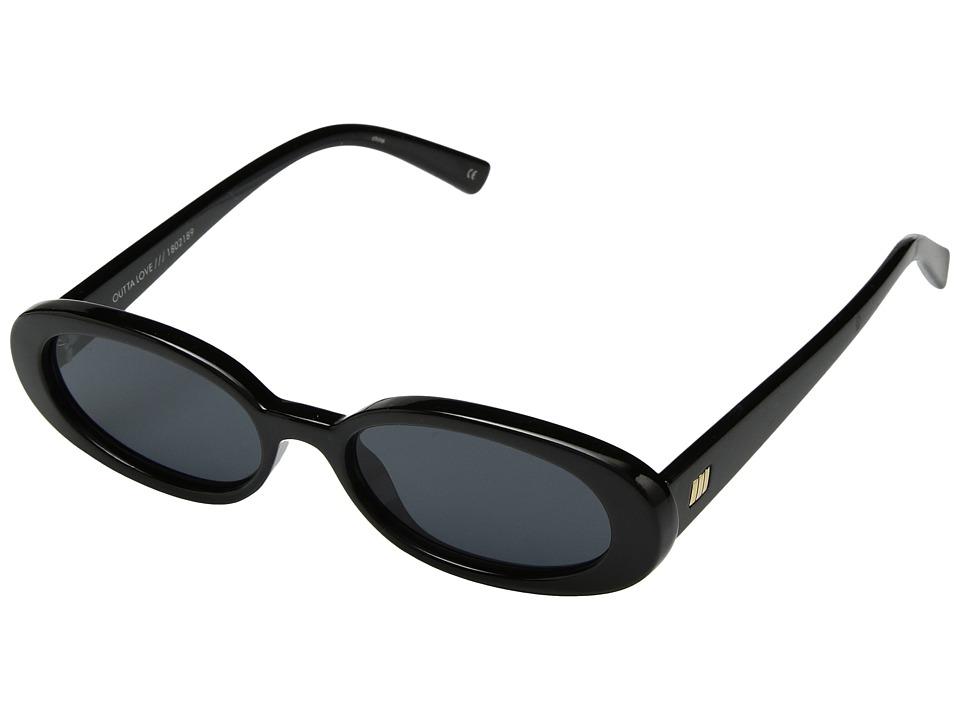 Le Specs - Outta Love (Black/Smoke Mono) Fashion Sunglasses