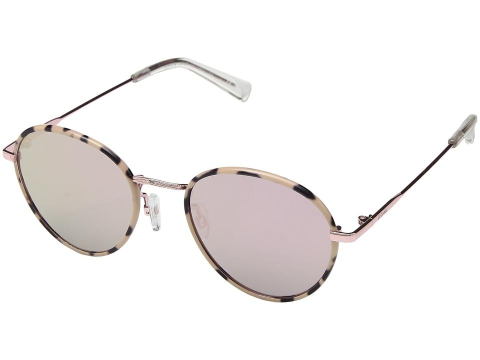 Le Specs - Zephyr Duex (Mist Tortoise/Peach Revo) Fashion Sunglasses