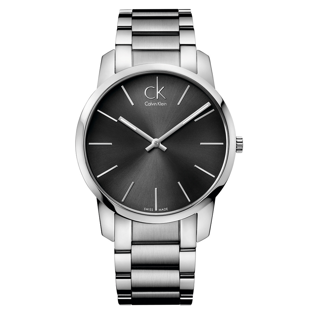 Calvin Klein City Watch - K2G21161 (Cool Grey/Silver) Wat...