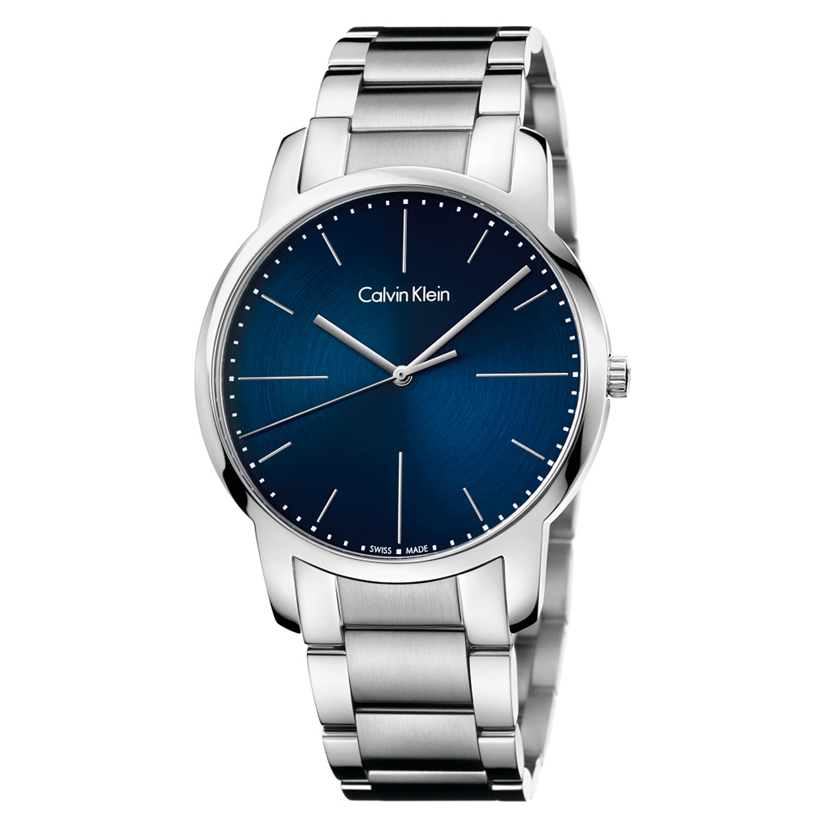 Calvin Klein City Watch - K2G2G1ZN (Blue/Silver) Watches