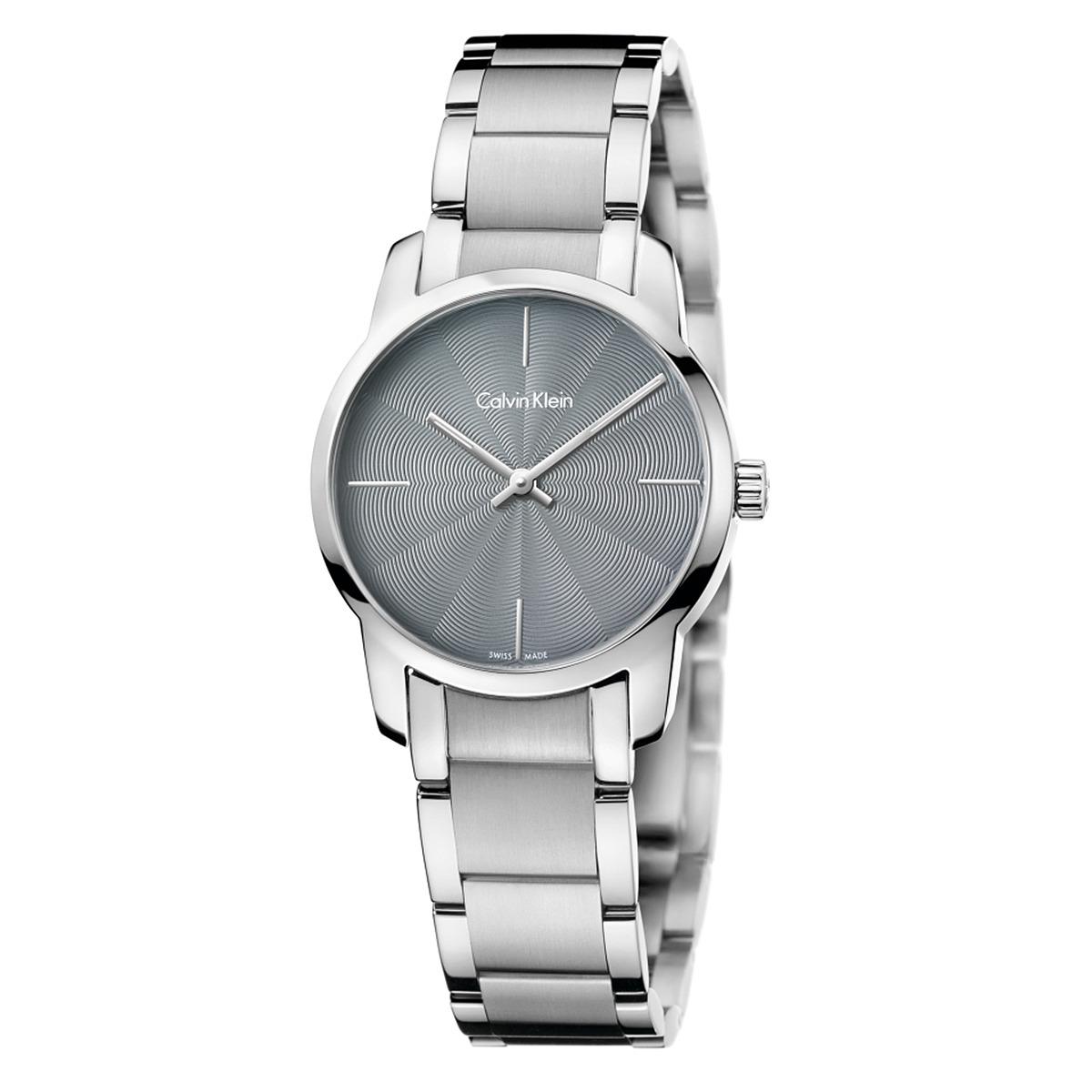 Calvin Klein City Watch - K2G23144 (Light Grey/Silver) Wa...