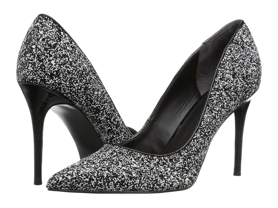 GUESS Braylea (White Multi Fabric) High Heels