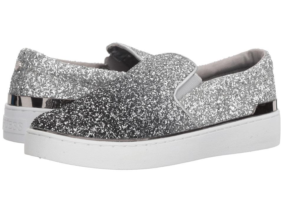 GUESS Deanda (Pewter Textile) Slip-On Shoes