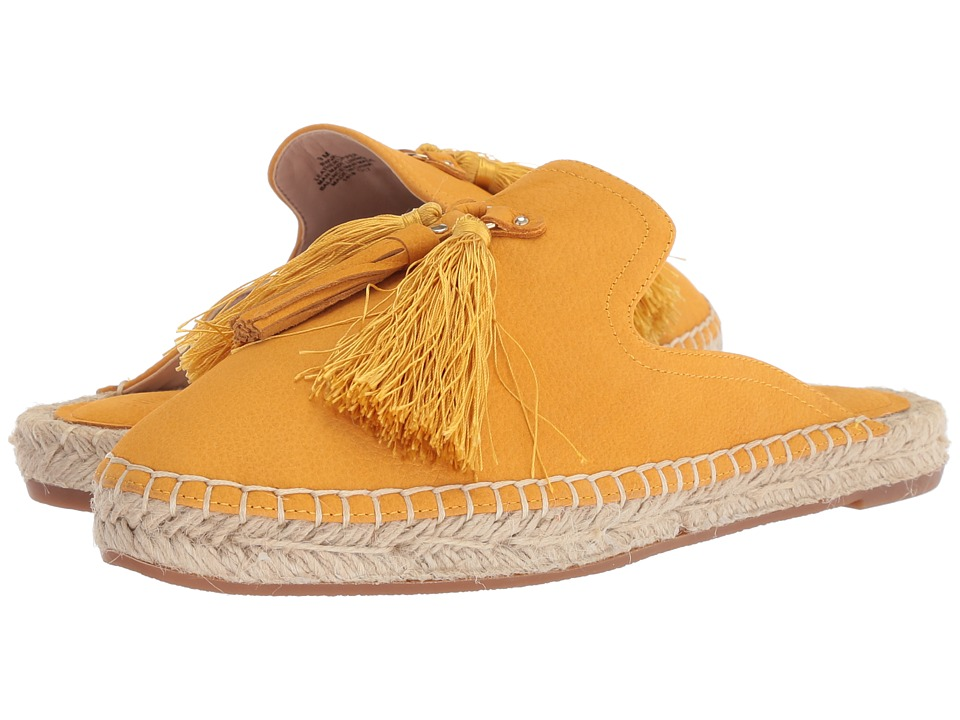 Nine West - Val Espadrille Mule (Yellow Leather) Womens Shoes