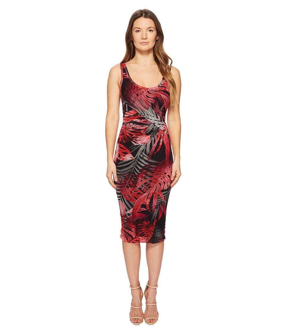 FUZZI Fitted Tank Dress (Nero) Women's Dress