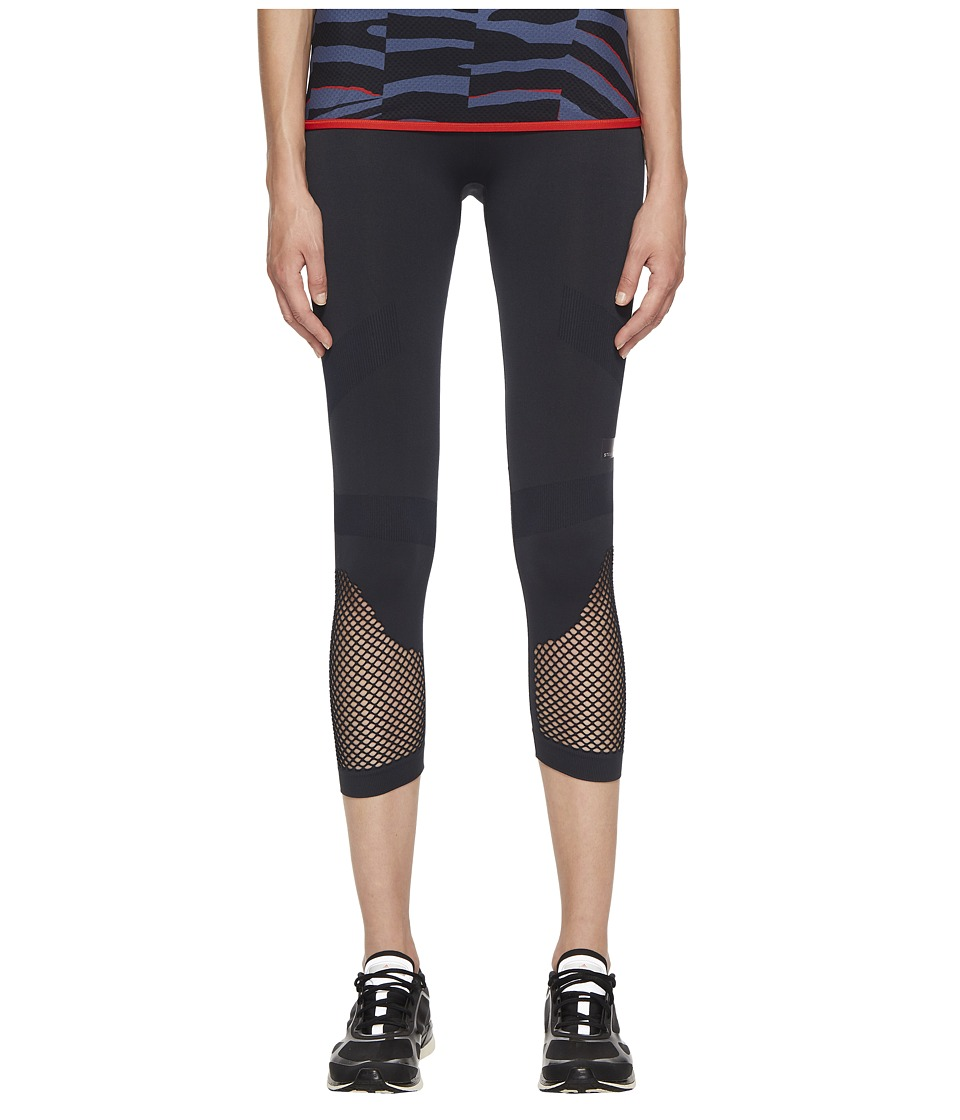adidas by Stella McCartney - Training Seamless 3/4 Tights CF4033 (Night Grey) Womens Casual Pants